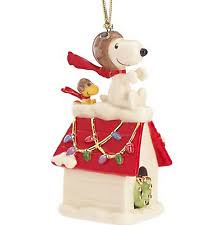 snoopy ornament ebay