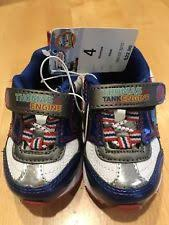 thomas the train light up shoes infant thomas the train velcro light up shoes size 4 4 ebay