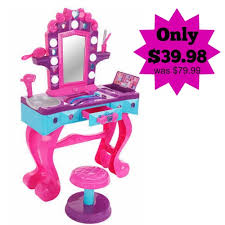 Little Girls Play Vanity Dream Dazzlers Glammin U0027 Salon Vanity Only 39 98 Was 79 99