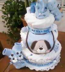 baby shower diaper cakes photos submitted readers