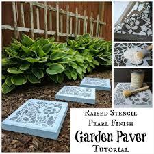 Paver Garden Paver Stones Pavers