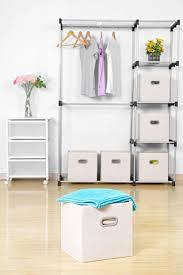 amazon com cloth storage bins maidmax set of 6 nonwoven foldable