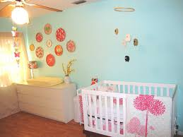 Flower Wall Decals For Nursery by Nursery Interior Design Striped Pattern Furniture Set Flower
