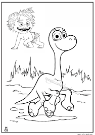 Good Dinosaur Coloring Pages Free Print Dinosaur Coloring Page