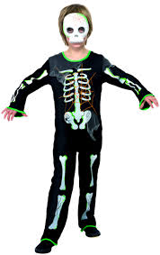 Scary Skeleton Halloween Costume by Child Scary Spider Skeleton Costume 35672 Fancy Dress Ball