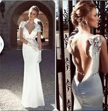 lace top wedding dress dress wedding dress satin low back lace shoulder pearl belt