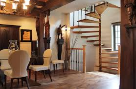 Traditional Staircase Ideas Interior Staircase Design Idea For Attic Or Basement By Using