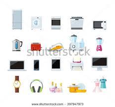 home appliance vector set download free vector art stock