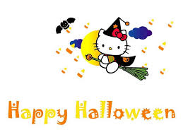Halloween Kitty by 90 Hello Kitty Wallpaper Backgrounds