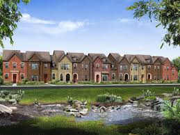 river walk at central park new townhomes in flower mound tx