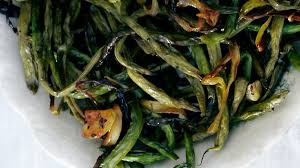 roasted green beans with recipe bon appetit