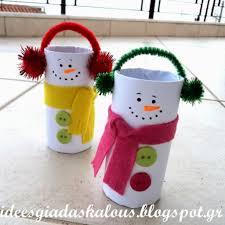 Idee Rouleau Papier Toilette 12 Modèles De Bricolages D U0027hiver à Faire Avec Rouleaux De Papier