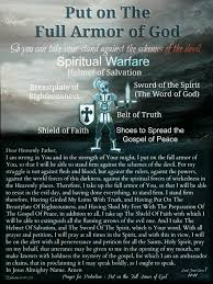 the full armor of god god prayer wordpress and spiritual warfare