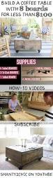 Wood Projects Youtube by Best 25 Build A Table Ideas On Pinterest Diy Table Coffee