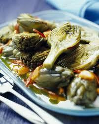 cuisiner des artichauts marinade d artichauts poivrades cuisine plurielles fr