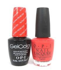 opi soak off gelcolor gel polish nail polish aloha from opi h70