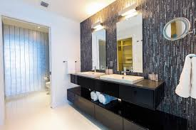 edmonton tile accent wall bathroom contemporary with glass shower