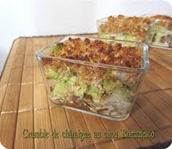 cuisiner un chou romanesco crumble de chou romanesco cuisine et dépendances