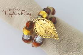 thanksgiving napkin rings craft welcome to inspiration friday no 90 at the picket fence