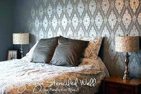 wall stencils for bedroom large wall damask stencil pattern faux mural damask wall stencil uk