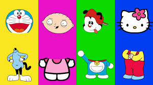 wrong heads animaniacs hello kitty doraemon family guy family song