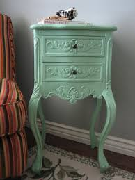 european paint finishes shabby chic end table