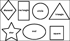 oval coloring page shapes coloring pages color zini