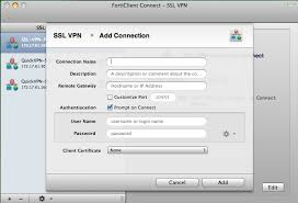 connection bureau a distance mac forticlient for mac os x quickstart guide