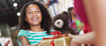 how to involve children in gift giving the