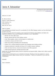 Best Office Manager Resume by Best Office Administrator Cover Letter Examples Livecareer In