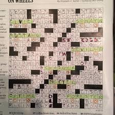 nyt crossword crossword kathy
