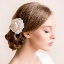 bridal hair clip bridal hair flower bridal hair flower flower hair