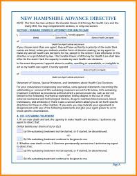 Washington State Durable Power Of Attorney Form by 9 Power Of Attorney Form Nh Action Plan Template