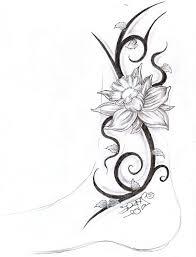 flower tribal tattoos cool tattoos bonbaden