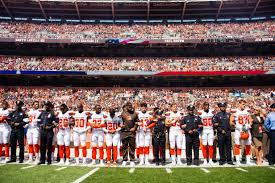 Cleveland Browns Flag Wkyc Com Cleveland Browns Join With Cleveland Police First