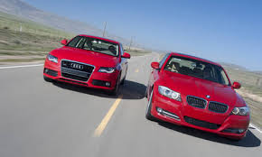 2009 audi a4 vs bmw 3 series audi a4 3 2 quattro vs bmw 335d