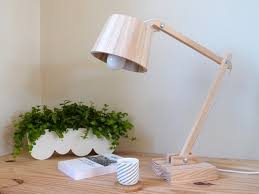 Make Wood Desk Lamp by How To Make A Scandinavian Wood Lamp Id Lights