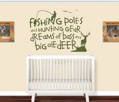 kids room decor wall decals nursery hunting by vinylthingzwalls