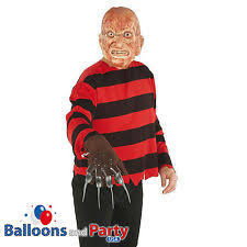 Halloween Freddy Krueger Costume Nightmare Elm Street Freddy Krueger Blister Kit Halloween
