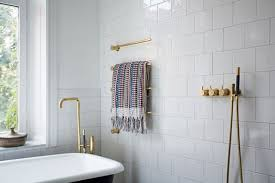 Gold Bathroom Fixtures Look We Gold Fixtures In The Bathroom Apartment Therapy