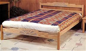 Futon Platform Bed Frame The Manzanita Platform Bed