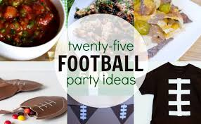 football party ideas 25 football party ideas food crafts and more a owl