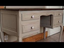 meuble bureau ancien patine sur meuble ancien tutoriel 2 hd720p