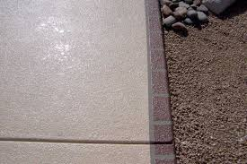 simulated kool deck desert rose concrete coating