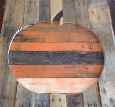 pallet wood pumpkin fall halloween decor decoration shabby youtube