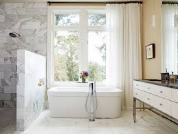 Showers Without Glass Doors Walk In Shower Without Door For More Air And Light Decohoms