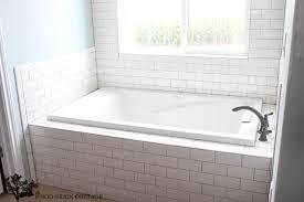 master bathroom tile designs new master bathroom tile the wood grain cottage