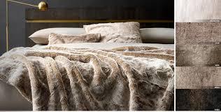 Faux Fur Comforter Set King All Faux Fur Rh