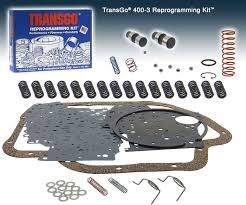 th400 high performance stage 3 transgo reprogramming kit