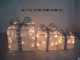 christmas present light boxes rattan sisal christmas decoration gift box led lights page 1